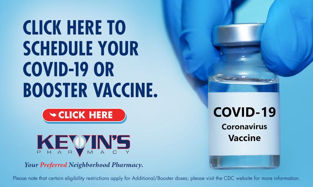 Click Here to Schedule Your COVID-19 OR Booster Vaccie.
